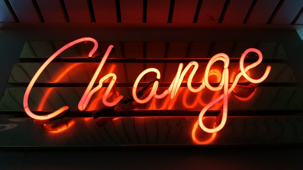 Life is about change